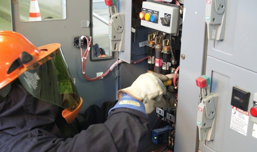 Seguridad eléctrica en el lugar de trabajo
